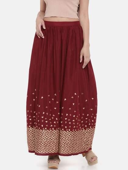 ff543697e3 Global Desi Skirts - Buy Global Desi Skirts online in India