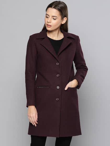 90d50a5c1 Coats for Women - Buy Women Coats Online in India | Myntra