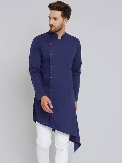 eca98221afc Kurtas for Men - Buy Men s Kurtas Online - Myntra