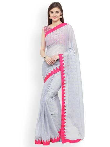 a466d369c4f810 Chiffon Saree - Buy Elegant Chiffon Sarees online - Myntra