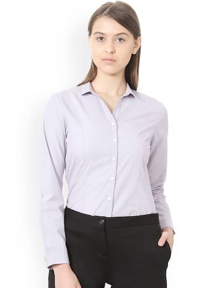 27d4591ca41579 Allen Solly Woman Shirts - Buy Allen Solly Woman Shirts online in India
