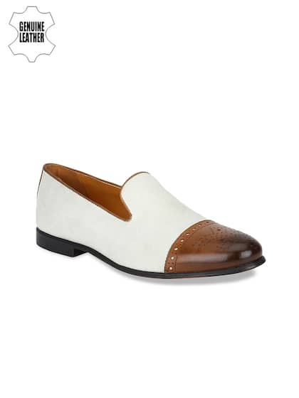 4e63b66b104 White Loafers For Men - Buy White Loafers For Men online in India