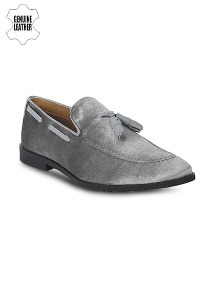 1f3fd1fbe02 Grey Loafers - Buy Grey Loafers For Men   Women Online in India
