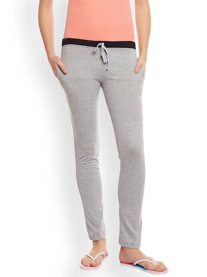 VIMAL JONNEY Grey Melange Solid Track Pants