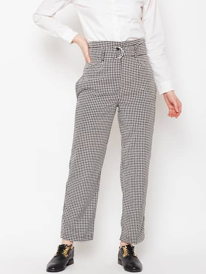 69370134 Women's Trousers - Shop Online for Ladies Pants & Trousers in India ...