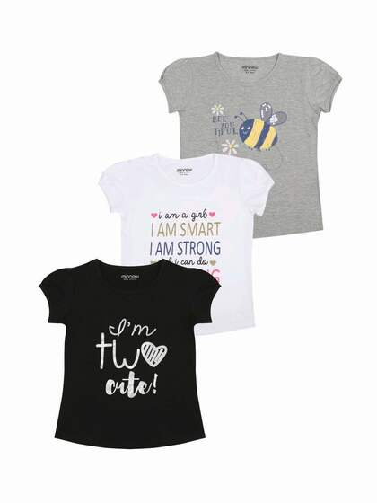 a0987cb5dd66 Tops for Girls - Buy Girls Tops   Tshirts Online - Myntra