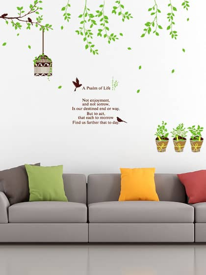 wall decals - buy wall decals online in india | myntra
