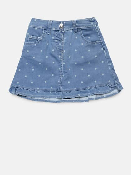74369f664e Denim Skirts - Buy Denim Skirts for Women Online | Myntra