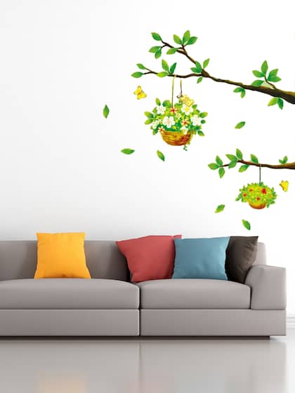 b7436a56423d0 Wall Stickers - Buy Wall Sticker Online in India | Myntra