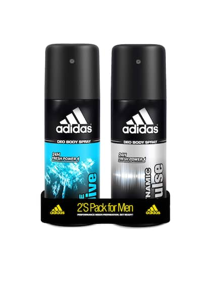 51d64fd7e1f ADIDAS Men Pack of 2 Dynamic Pulse   Ice Dive Deodorant Spray 150 ml