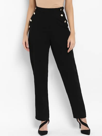 09fefd75a Cigarette Pants - Buy Cigarette Trousers for Men and Women Online in ...
