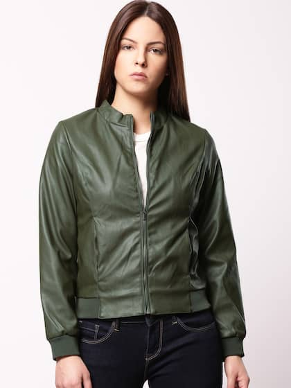 Women Olive Jackets Buy Women Olive Jackets Online In India