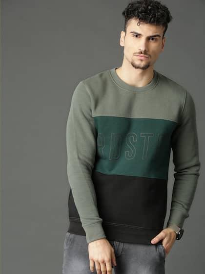 fc257c340ea0 Sweatshirts For Men - Buy Mens Sweatshirts Online India