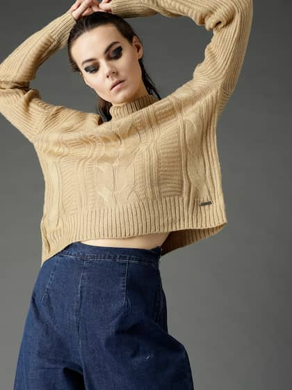 Turtle Neck Sweaters - Buy Turtle Neck Sweaters online in India 9066f4e95