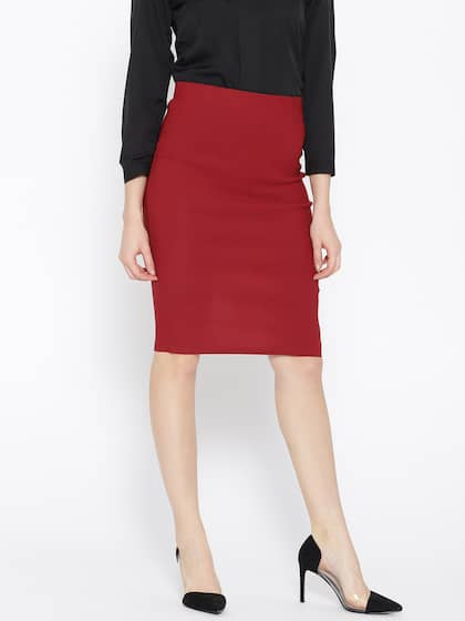 Formal Skirts - Buy Formal Skirts online in India cb99d7794