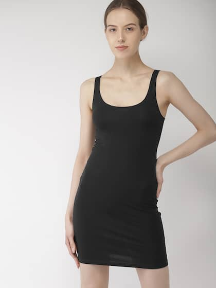 Black Body Con Dress