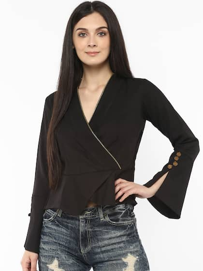 Peplum Tops - Buy Peplum Tops for Women Online - Myntra 90f015543