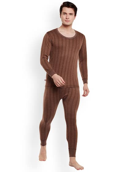 New Mens Two Piece Turtle Neck Thermal Set ..100% Cotton Sleepwear & Robes