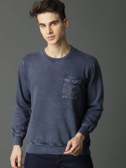 c2db443e Sweatshirts For Men - Buy Mens Sweatshirts Online India
