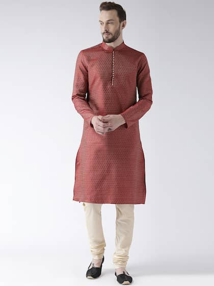 Kurtas For Men Buy Men S Kurtas Online Myntra