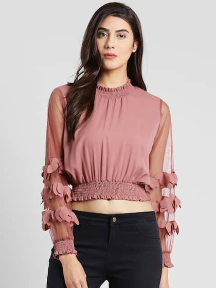 0beea19ee65 Crop Tops - Buy Crop Tops Online - Myntra