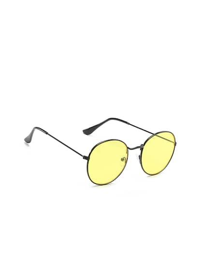 7672fc39df Yellow Sunglasses - Buy Yellow Sunglasses Online in India