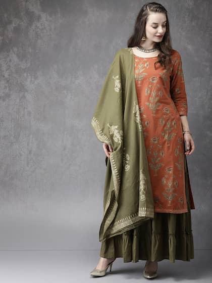 430a2c1e8 Shararas - Buy Designer Sharara Suits Online | Myntra