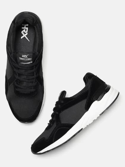 8d8904e9673 Black Casual Shoes - Buy Black Casual Shoes Online in India