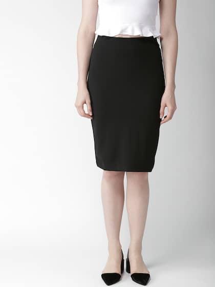 906201d6c8 Pencil Skirt - Buy Pencil Skirt online in India