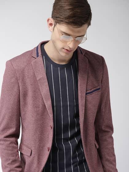 07b009d024 Blazers for Men - Buy Men Blazer Online in India at Best Price | Myntra