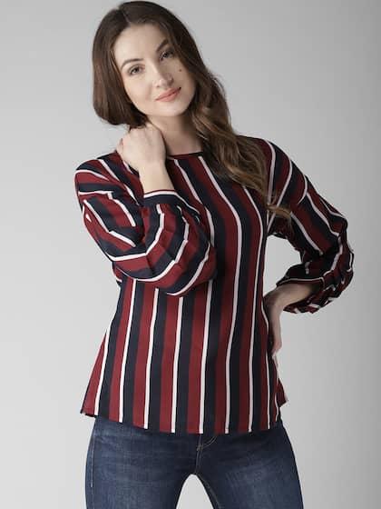 719066cd30f054 Long Sleeve Tops - Buy Long Sleeve Tops online in India