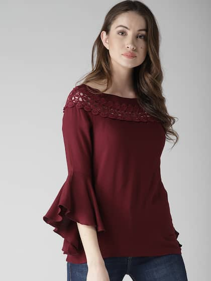 ae00e679cab6 Lace Tops - Buy Lace Tops for Women   Girls Online in India