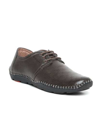 new style 59b44 a78a4 Duke. Men Perforated Derbys