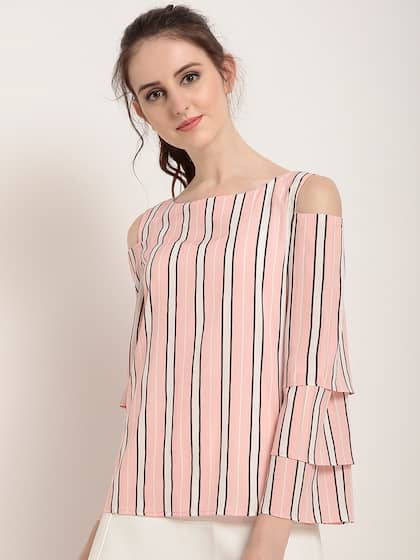1c43394df999e Cold Shoulder Tops - Buy Cold Shoulder Tops for Women Online - Myntra