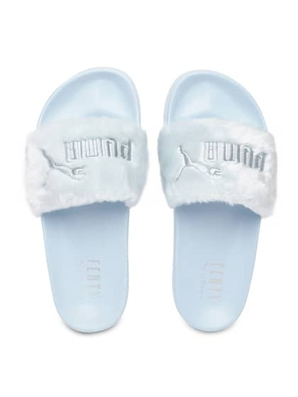 27c060750fbf Fur Flip Flops - Buy Fur Flip Flops online in India