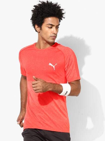 23de6a96 Puma Orange Tshirts - Buy Puma Orange Tshirts online in India