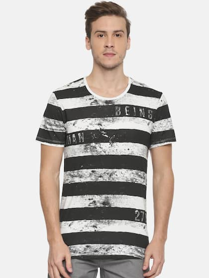 ebdb9a817ffe Buy Being Human T-Shirts Online For Men At Myntra
