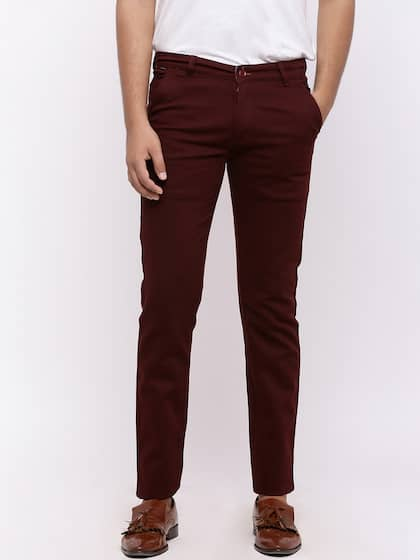 1d6250d6941 Trousers For Men - Buy Mens Trousers Pants Online - Myntra