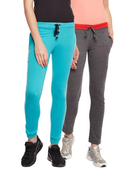 VIMAL JONNEY Women Pack of 2 Solid Track Pants