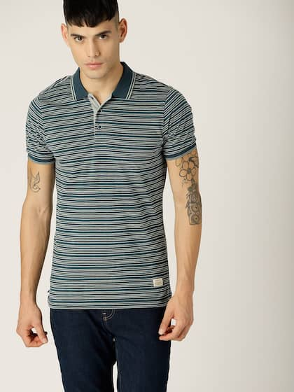 c7ff06067 United Colors of Benetton. Striped Polo Collar T-shirt