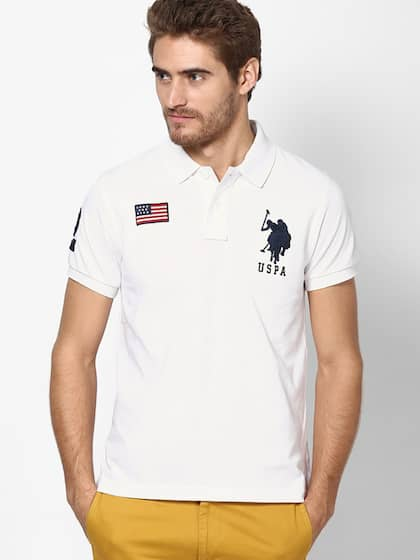 1446473aa22 Polo T-Shirts for Men - Buy Mens Polo T-shirt Online