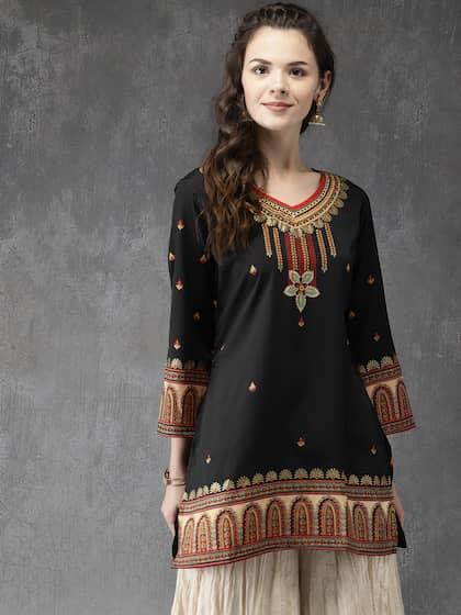 7024bdbda Short Kurtis - Buy Short Kurti For Women Online in India