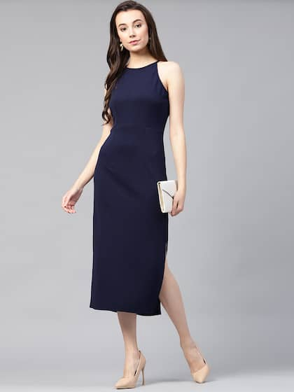 7d5f7ba91229 Midi Dresses - Buy Midi Dress for Women & Girl Online | Myntra