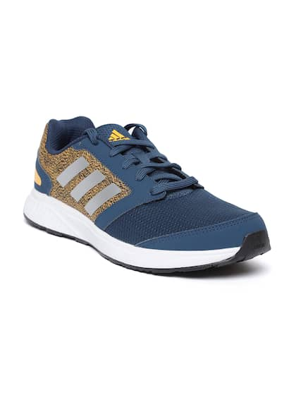 Adidas Men Teal Blue & Orange ADI Pacer 4 Running Shoes
