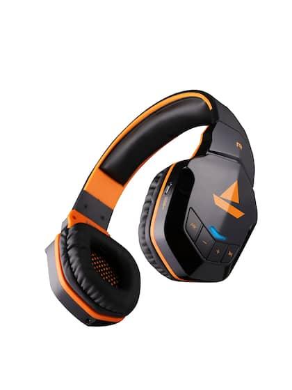 boAt Rockerz 510 Molten Orange Wireless Headphone with Enhanced Bass & 10H Playtime