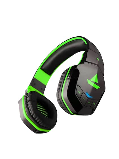 boAt Rockerz 510 Viper Green Wireless Headphone with Thumping Bass and 10H Playtime