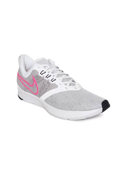 058c8af2edfd9 Nike. Women Grey ZOOM STRIKE Running