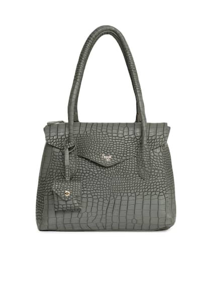 609d2f2c4e Baggit Women Grey Arlette YGZ Dabney Textured Shoulder Bag