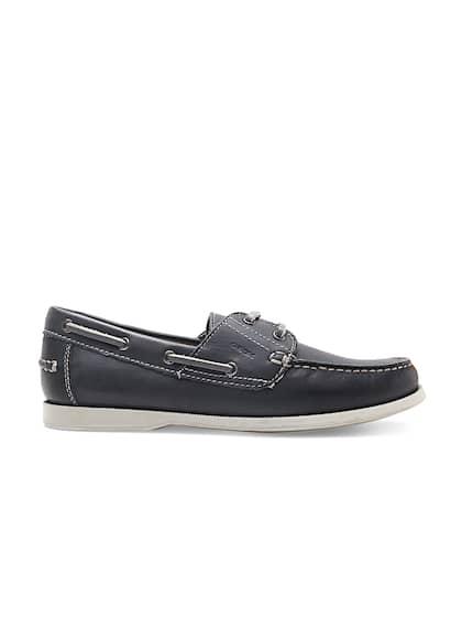 eddb39cb68a Geox. Men Leather Boat Shoes