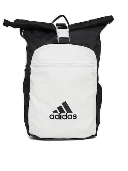 ADIDAS Unisex White   Black ATHL Core Colourblocked Backpack 620a8441f72c3